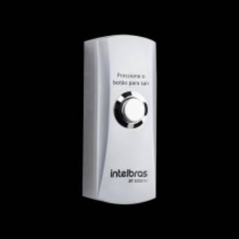 Comprar o produto de Acionador de saída inox sobrepor BT 3000 IN Intelbras em Trava de Segurança pela empresa Nksec Segurança e Tecnologia em Jundiaí, SP por Solutudo