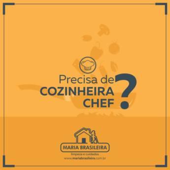 Comprar produto Cozinheira em Nossos Serviços pela empresa Maria Brasileira Limpeza e Cuidados em Botucatu, SP