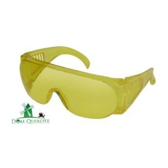 Comprar o produto de Óculos ampla visão - lente amarela em Proteção visual pela empresa Dom Quixote Equipamentos de Proteção Individual em Jundiaí, SP por Solutudo