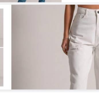 Comprar o produto de Calça reta cropped barra desfiada BOOQ em Roupas e Acessórios pela empresa Loja Ego - Moda Feminina Multimarcas em Botucatu, SP por Solutudo