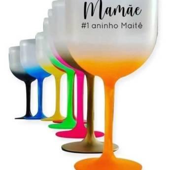 Comprar o produto de Taças de Gin - Personalizadas em Impressão de Brindes em Jundiaí, SP por Solutudo