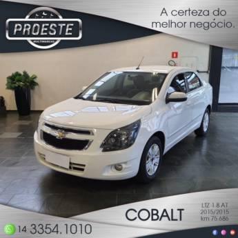 Comprar o produto de COBALT LTZ 1.8 AT em Concessionárias em Botucatu, SP por Solutudo