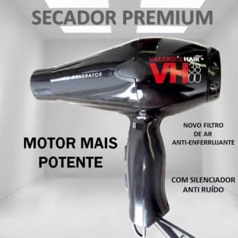 Comprar o produto de Secador Valeries Hair Professional Hair VH3800 2300 whats de potência, tensão para alimentação 127 volts. em Valeries em Araçatuba, SP por Solutudo