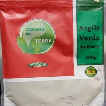Comprar o produto de Argila Verde 200g em Outros em Botucatu, SP por Solutudo
