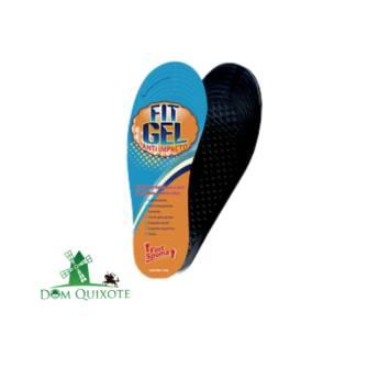 Comprar o produto de Palmilha Masculina em gel - recortável  em Calçados de segurança pela empresa Dom Quixote Equipamentos de Proteção Individual em Jundiaí, SP por Solutudo