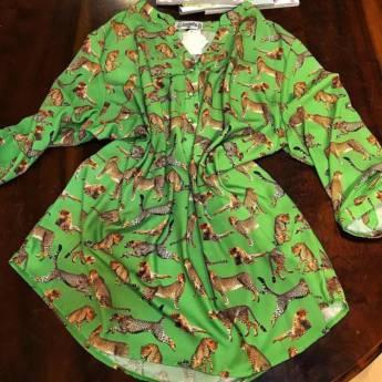 Comprar o produto de Camisa 3\4 estampa tigre Simplelife em Roupas e Acessórios pela empresa Loja Ego - Moda Feminina Multimarcas em Botucatu, SP por Solutudo