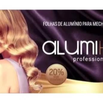 Comprar o produto de PAPEL ALUMÍNIO PARA MECHAS ALUMI HAIR CX C/ 320 FOLHAS em Outros Artigos em Araçatuba, SP por Solutudo