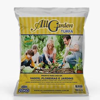 Comprar o produto de All garden turfa Vasos, floreira e jardins  em Floriculturas em Botucatu, SP por Solutudo