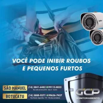 Comprar produto GCP Monitoramento cuidando de você! em Câmeras de Segurança pela empresa GCP Monitoramento em Botucatu, SP