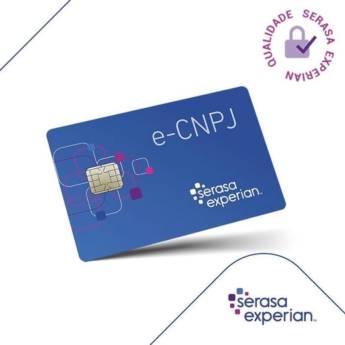 Comprar o produto de e-CNPJ  em Outros Serviços em Tietê, SP por Solutudo