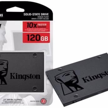 Comprar o produto de SSD Kingston 120 GB A400 em SSD pela empresa Multi Consertos - Celulares, Vídeo Games, Informática, Eletrônica, Elétrica e Hidráulica em Botucatu, SP por Solutudo