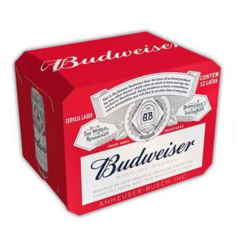 Comprar o produto de Caixa de Cerveja Budweiser 350ml  em Cervejas em Foz do Iguaçu, PR por Solutudo