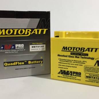 Comprar o produto de Bateria Motobatt MBTX12U 14.0 AH em Baterias pela empresa Casa das Baterias em Foz do Iguaçu, PR por Solutudo