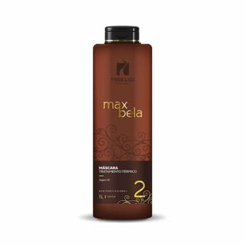 Comprar o produto de Máscara Tratamento Térmico Max Bela 1 litro da Tree liss em Escova Progressiva em Araçatuba, SP por Solutudo