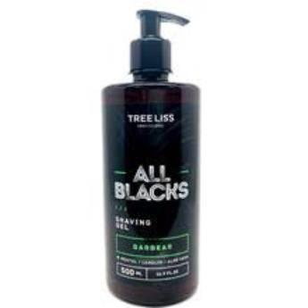 Comprar o produto de Shaving Gel para Barbear All Blacks 500 ml da Tree Liss em Espuma de Barbear em Araçatuba, SP por Solutudo