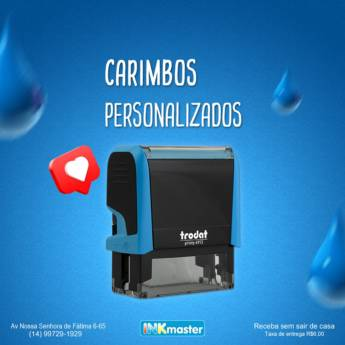 Comprar o produto de Carimbos Personalizados em Personalizados em Bauru, SP por Solutudo