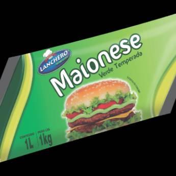 Comprar o produto de Maionese Lanchero Verde refil 984g und em A Classificar em Botucatu, SP por Solutudo