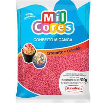 Comprar o produto de Confeito Miçanga Rosa Mavalério em Alimentos e Bebidas pela empresa Eloy Festas em Jundiaí, SP por Solutudo
