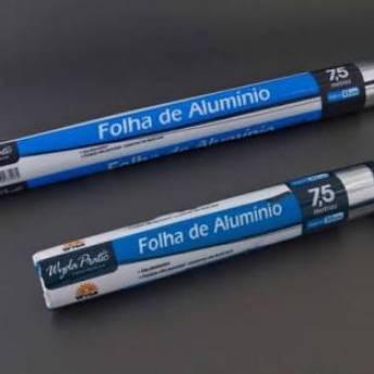 Comprar o produto de Rolo de Aluminio 45cmx7,5m und em A Classificar pela empresa TRESKOS em Botucatu, SP por Solutudo
