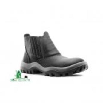 Comprar o produto de Botina de elástico com bico de PVC - Safetline em Calçados de segurança pela empresa Dom Quixote Equipamentos de Proteção Individual em Jundiaí, SP por Solutudo
