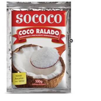 Comprar o produto de Coco Ralado Sococo  em Alimentos e Bebidas pela empresa Eloy Festas em Jundiaí, SP por Solutudo