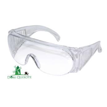 Comprar o produto de Óculos de segurança de sobrepor incolor PANDA em Proteção visual pela empresa Dom Quixote Equipamentos de Proteção Individual em Jundiaí, SP por Solutudo
