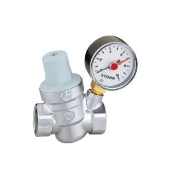 AS533241 - Válvula Redutora de Pressão com Manômetro 1/2'' F