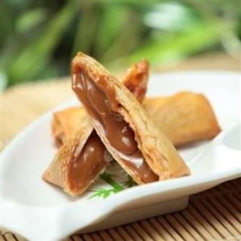 Comprar o produto de Harumaki de Doce de Leite (2 unidades) em Sobremesas em Atibaia, SP por Solutudo