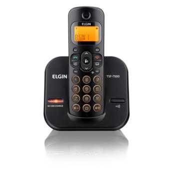 Comprar o produto de Telefone S/fio Elgin  em Eletrônicos, Áudio e Vídeo em Tietê, SP por Solutudo