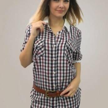 Comprar o produto de Camisa xadrez Todos a Bordo em Roupas e Acessórios pela empresa Loja Ego - Moda Feminina Multimarcas em Botucatu, SP por Solutudo