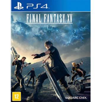 Comprar o produto de Final Fantasy XV - PS4 em Jogos Novos pela empresa IT Computadores, Games Celulares em Tietê, SP por Solutudo
