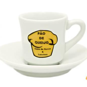 Comprar o produto de Xícaras de Café em Porcelana em Variedades pela empresa Plotprint Gráfica Express em Atibaia, SP por Solutudo