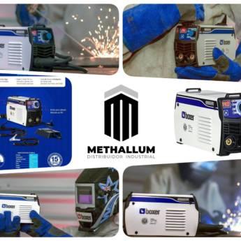 Comprar produto BOXER INVERSORA SOLDA TOUCH 145 em Outros pela empresa Methallum Distribuidor Industrial em Botucatu, SP