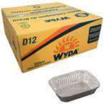 Comprar o produto de Bandeja Alumínio 230g (D12) c/200 em A Classificar pela empresa TRESKOS em Botucatu, SP por Solutudo
