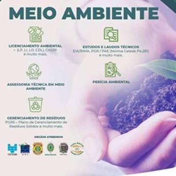 Comprar o produto de Estudos e Laudos Técnicos em Serviços Ambientais em Americana, SP por Solutudo