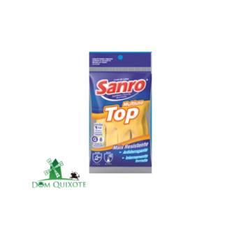 Comprar o produto de Luva de Látex - SANRO  em Luvas pela empresa Dom Quixote Equipamentos de Proteção Individual em Jundiaí, SP por Solutudo