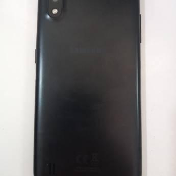 Comprar o produto de CELULAR SMARTPHONE SAMSUNG A01, 32GB, OCTACORE, 2GB RAM em Usados em Botucatu, SP por Solutudo