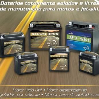 Comprar o produto de Baterias Route em Baterias para Motos em Americana, SP por Solutudo