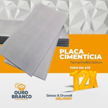 Comprar o produto de Placa Cimenticia em Revestimento de Parede em Foz do Iguaçu, PR por Solutudo