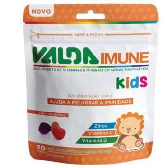 Comprar o produto de Valda Imune Kids - 30 gomas em Imunidade em Atibaia, SP por Solutudo
