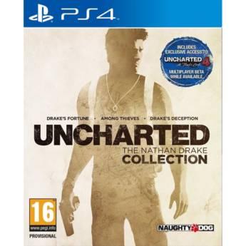 Comprar o produto de UNCHARTED: The Nathan Drake Collection - PS4 em Jogos Novos pela empresa IT Computadores, Games Celulares em Tietê, SP por Solutudo