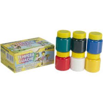 Comprar o produto de Tinta Guache Acrilex  em Canetas, Lápis e Afins pela empresa Eloy Festas em Jundiaí, SP por Solutudo
