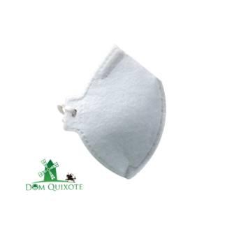 Comprar o produto de Máscara PFF2 sem valvula Branca  em Respiradores pela empresa Dom Quixote Equipamentos de Proteção Individual em Jundiaí, SP por Solutudo