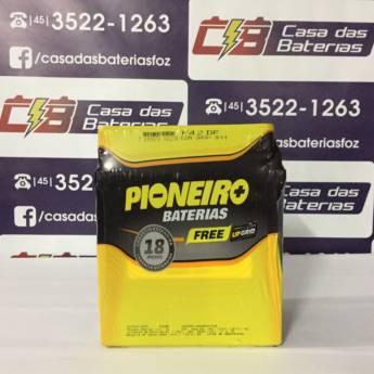 Comprar o produto de Bateria Pioneiro F42DF em Baterias pela empresa Casa das Baterias em Foz do Iguaçu, PR por Solutudo