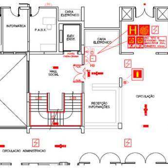 Comprar o produto de Projeto de Prevenção e Combate à Incêndio em Engenharia Civil em Botucatu, SP por Solutudo