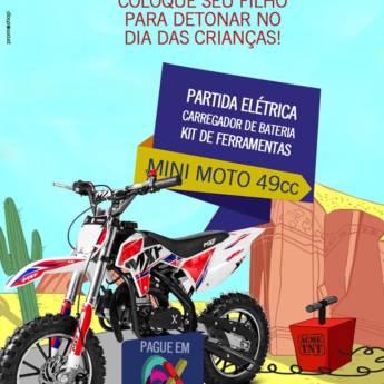 Comprar o produto de Mini Moto em Mini Motos pela empresa Casa das Baterias em Foz do Iguaçu, PR por Solutudo