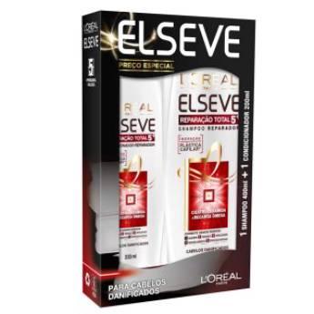 Comprar o produto de kit Elseve shampoo+condicionador em Cabelo em Foz do Iguaçu, PR por Solutudo