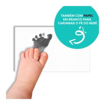 Comprar o produto de Porta retrato pezinho - Menino em Personalizados em Aracaju, SE por Solutudo