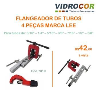 Comprar o produto de FLANGEADOR DE TUBOS 4 Peças LEE em Ferramentas pela empresa Vidrocor Tintas - Loja 1 em Botucatu, SP por Solutudo