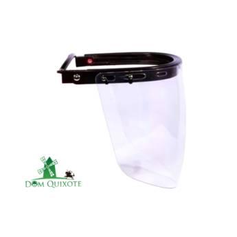 Comprar o produto de Viseira bolha e suporte universal em Proteção facial pela empresa Dom Quixote Equipamentos de Proteção Individual em Jundiaí, SP por Solutudo